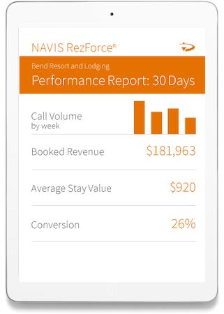 NAVIS RezForce performance reporting