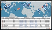 Global Visibility Platform real-time status tracking