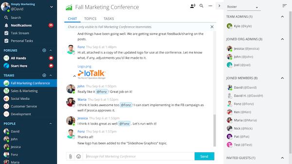 Ryver Team Messaging