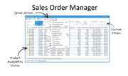 Acctivate - Purchase order window
