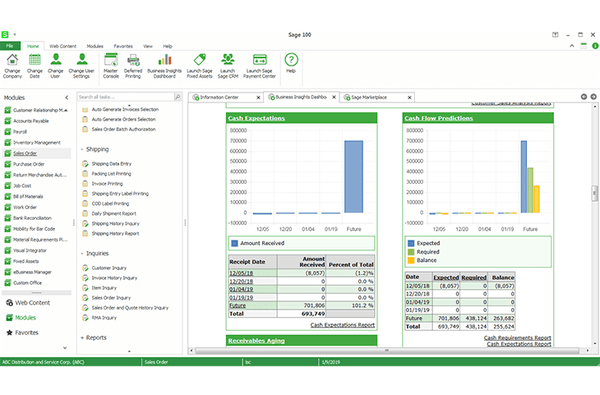 Sage 100cloud Software - 2019 Reviews, Pricing & Demo