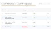 HuskyHR - HuskyHR salary structure management