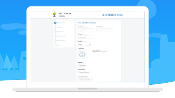 Sandbox online registration form