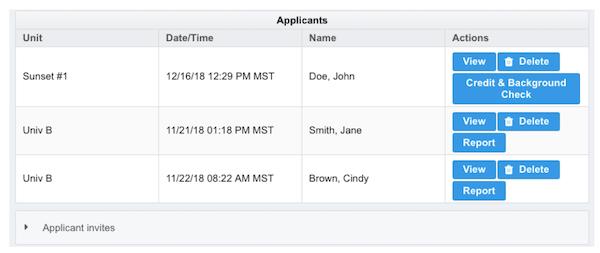 Schedule My Rent applicant screening