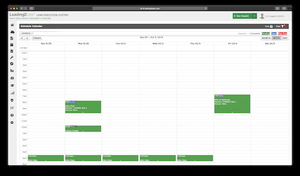scheduler calendar