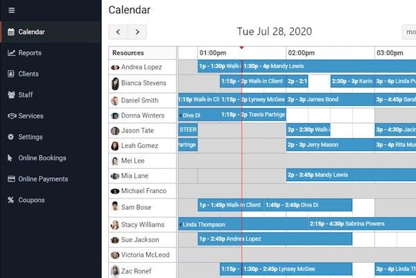 Scheduly calendar