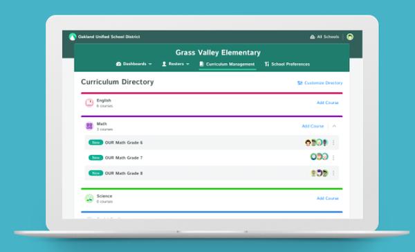 School/District-wide Curriculum Management
