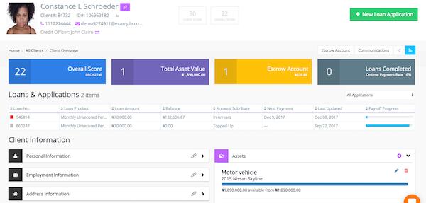 LoanCirrus client overview