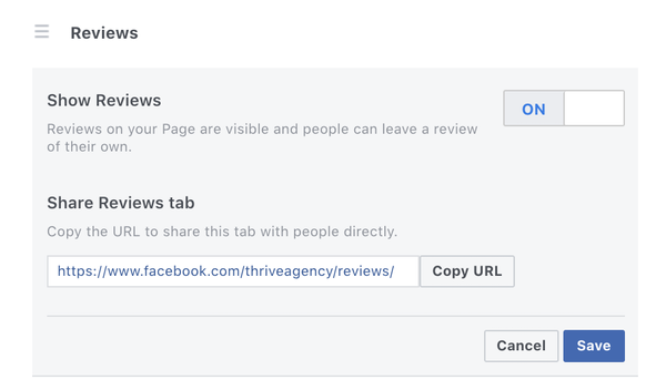 Rize Reviews social sharing screenshot