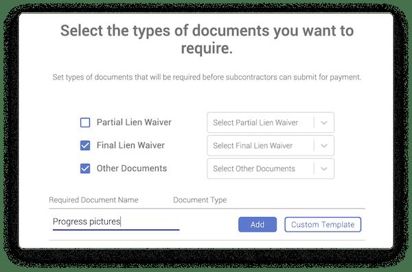 Flashtract document types