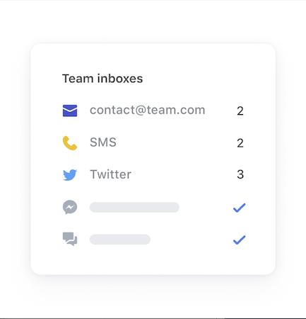 Team inboxes