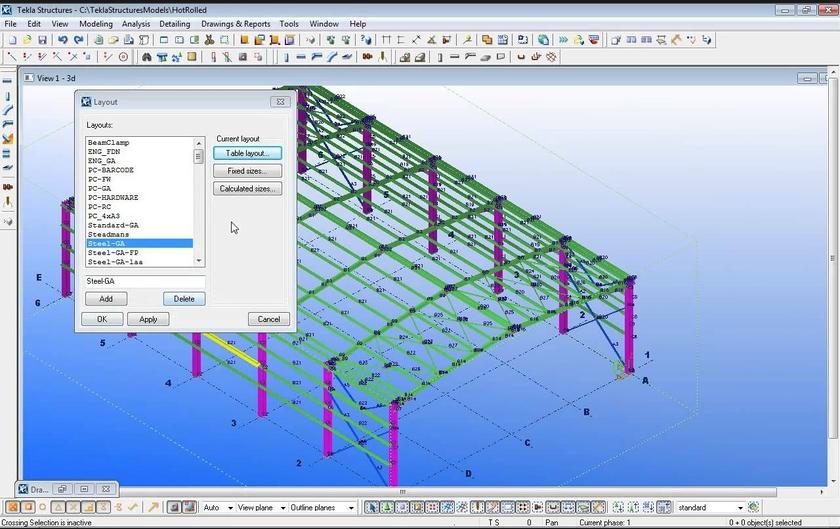 Tekla Structures - Tekla structures models