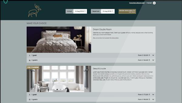 RoomRacoon Booking Engine