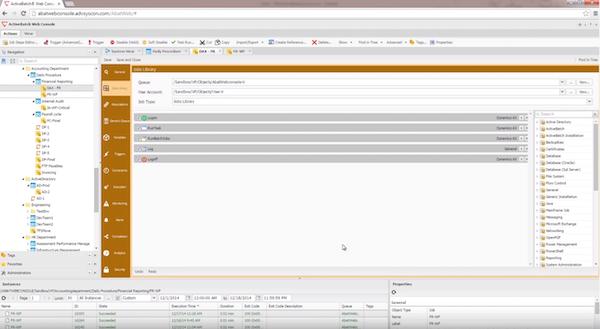 ActiveBatch Job Editor