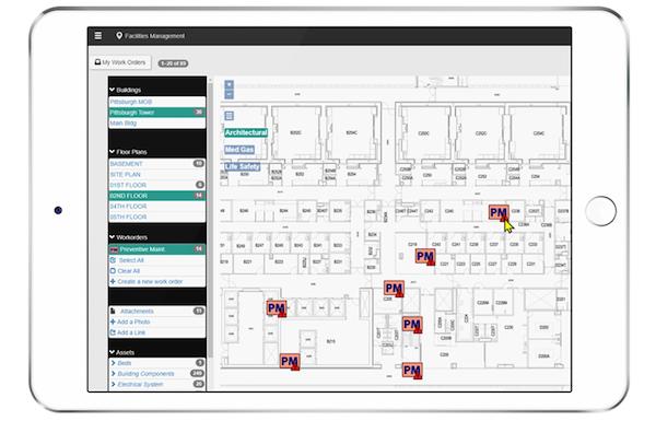 Facilities Survey CMS map screenshot