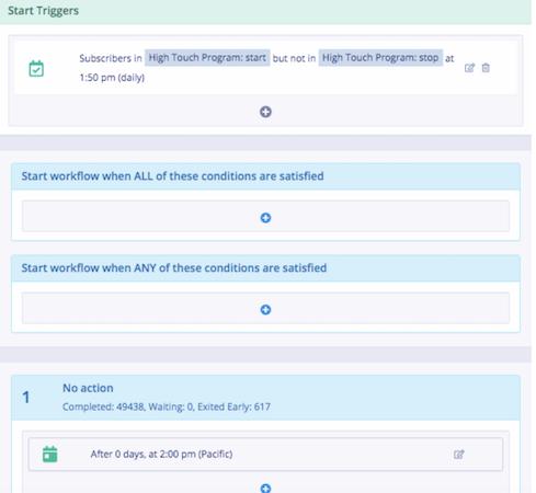 Chatitive start workflows