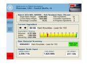 Data Navigator batch details