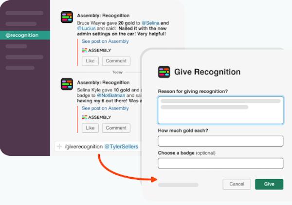 Assembly Slack integration