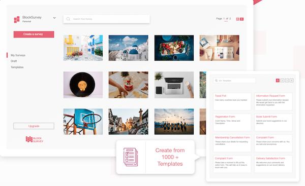 BlockSurvey create templates