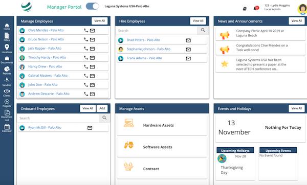 Juntrax manager portal