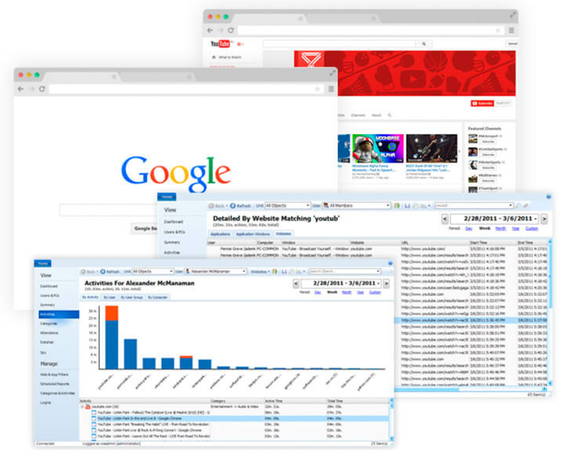 Work Examiner website tracking