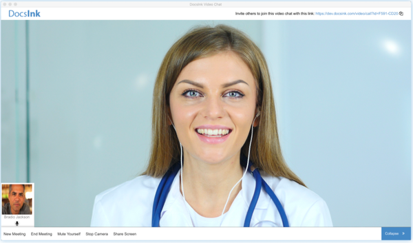 DocsInk video chat