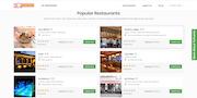 YoYumm Restaurant Listings