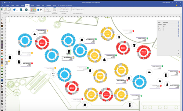 Visio diagrams from a web browser