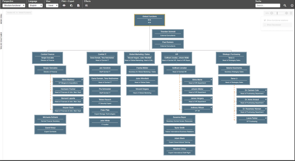 Ingentis org.manager functional structure