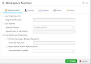 PlaidCloud add workspace member