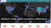 Global view with country reference