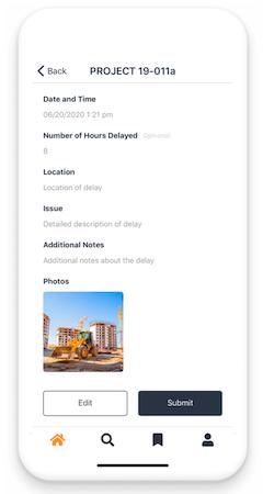 DataStreet Delays Mobile App