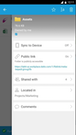Datto Workplace Folder Settings