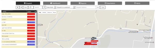 EcoTrack Fleet Management - dispatch