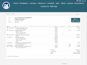 Easy Busy Pets invoice management