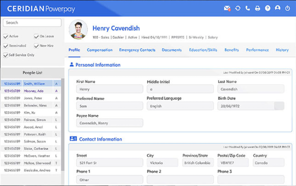 Powerpay - HR profiles