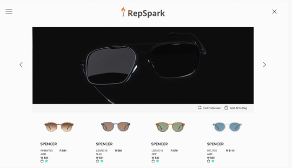 RepSpark product videos