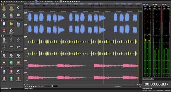 SOUND FORGE Audio Editor