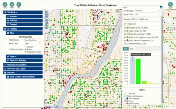 TreePlotter INVENTORY - map