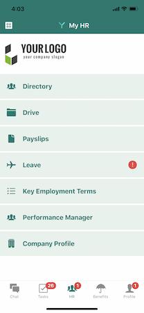 Yuvo mobile interface