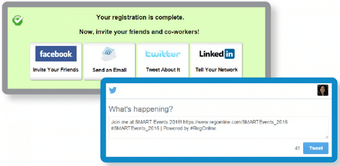 Online registration forms