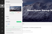 Create event page