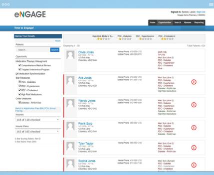 eNGAGE module