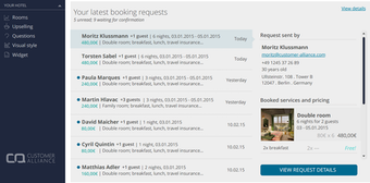 Latest bookings