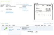 Certify Expense - Invoice approval report