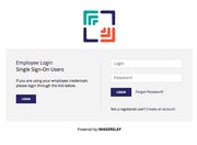 Image Relay - Login page