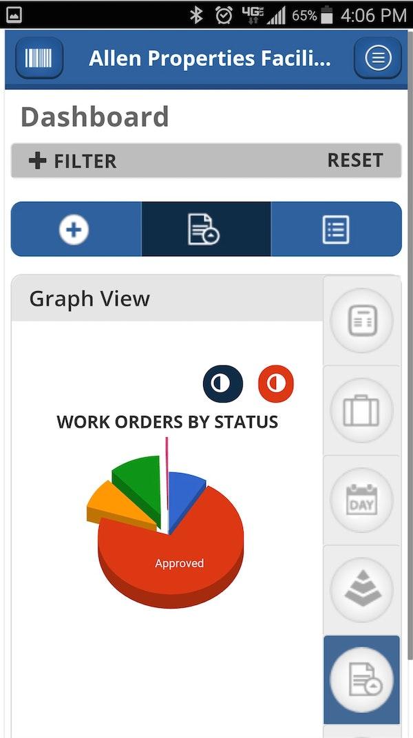 Smartphone work order