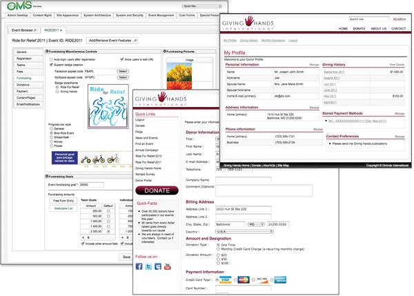 Online marketing suite