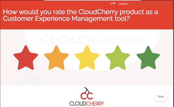 Webex Experience Management - Survey #1