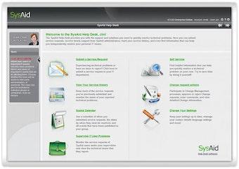 Self-Service End Users' Portal